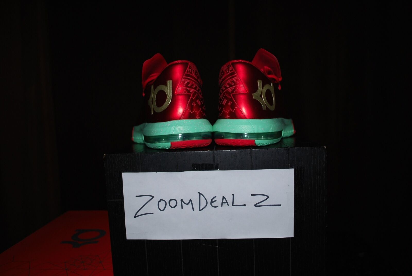 Nike Zoom Zoom Zoom KD VI CHRISTMAS Edition All Star NEW Size 10 8f08c7