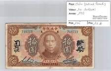 BILLET CHINE - 10 DOLLARS - 1923