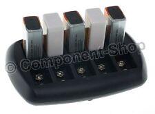 Inteligente Cargador de batería para 10x PP3 8.4V (9V) NiCd NiMH batteries. Enchufe de Reino Unido