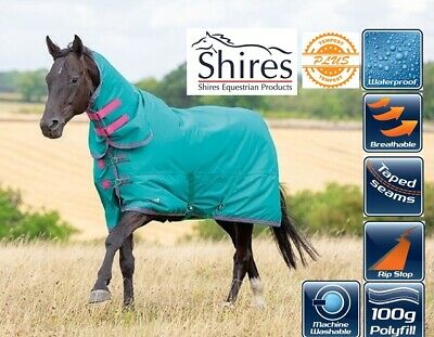 Shires Tempest Original Lite Lightweight No Fill No Neck Turnout Rug *ALL SIZES*