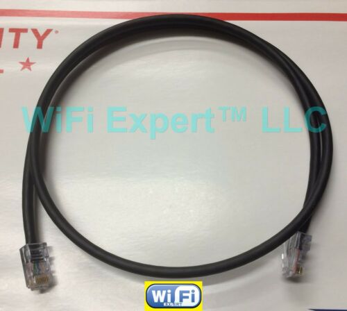 1-50/' BLACK Patch PoE CAT5e Jumper Cable MADE IN USA