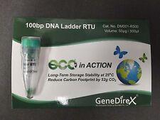 100bp DNA Ladder DNA Marker, Electrophoresis, Agarose Gel, 500ul 100 uses