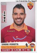 380 SIMONE PERROTTA ITALIA AS.ROMA STICKER CALCIATORI 2013 PANINI