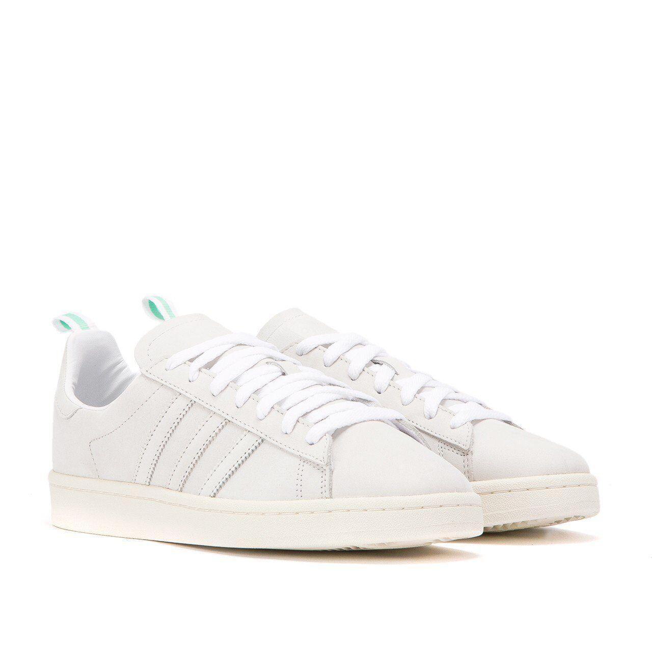 Adidas Original Herren Campus Klassisch Modisch Sportschuhe Weiß