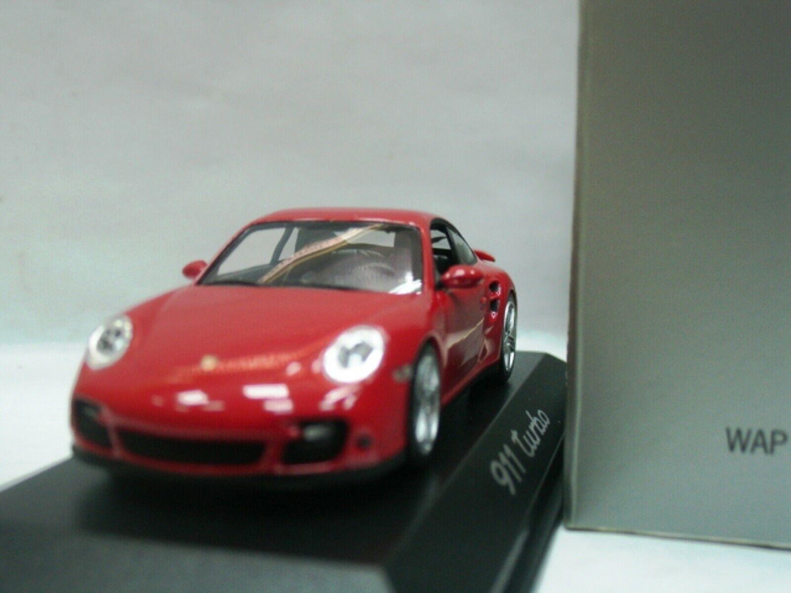 WOW EXTREMELY RARE Porsche 997 911 2006 Turbo Travel Club Club Club Red 1 43 Minichamps-RS 2f45b9