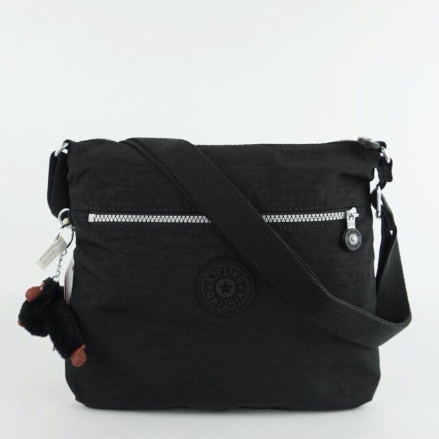 KIPLING JAIME Shoulder CrossBody Travel Bag Black