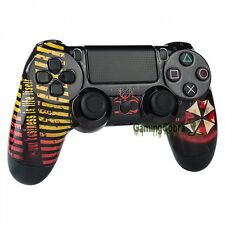 Biohazard Front Shell Case Faceplate Repair Parts for Dualshock 4 PS4 Controller