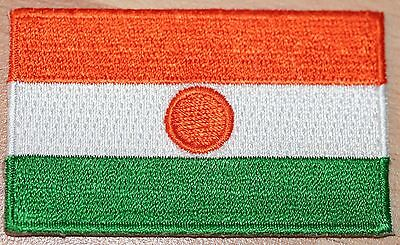 NIGER Country Flag Embroidered PATCH