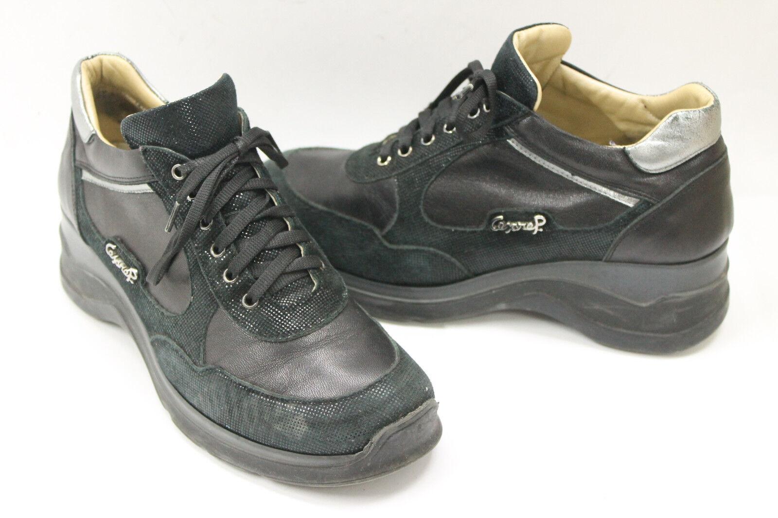 CESARE PACIOTTI women shoes sz 6 Europe Europe Europe 36 black leather S7221 57ab8f