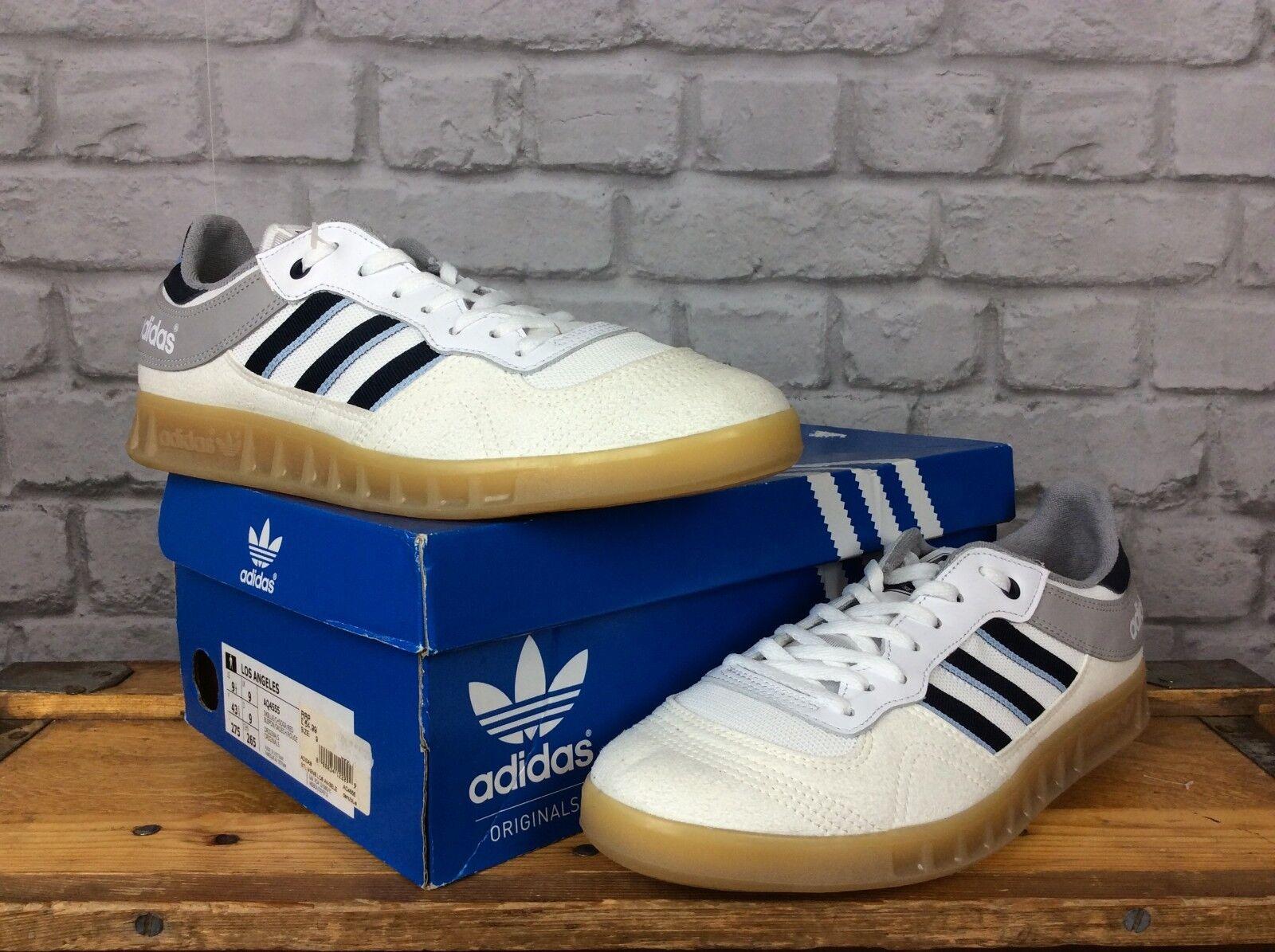 Adidas Originals Homme UK 9 EU Handball 43 1/3 blanc vintage Handball EU Liga Gum Baskets 82fa15
