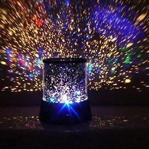 LED-Romantique-Nuit-Etoilee-Ciel-Lampe-De-Projecteur-Enfants-etoile-clair-Cosmos