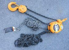 Harrington Cf030 3 Ton Manual Chain Hoist Cf4 3467 20 Lift