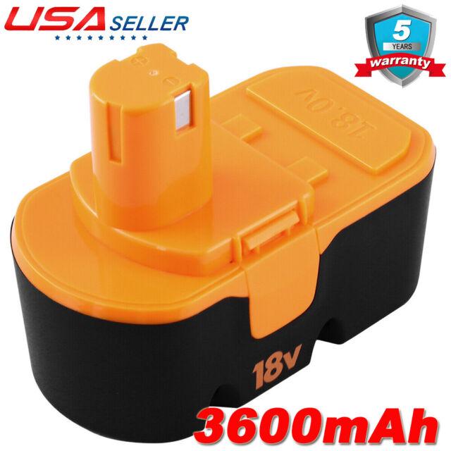 3.0AH 18V NiMH Battery for Ryobi One Plus P100 P101 ABP1803 ABP1801 18 Volt Tool