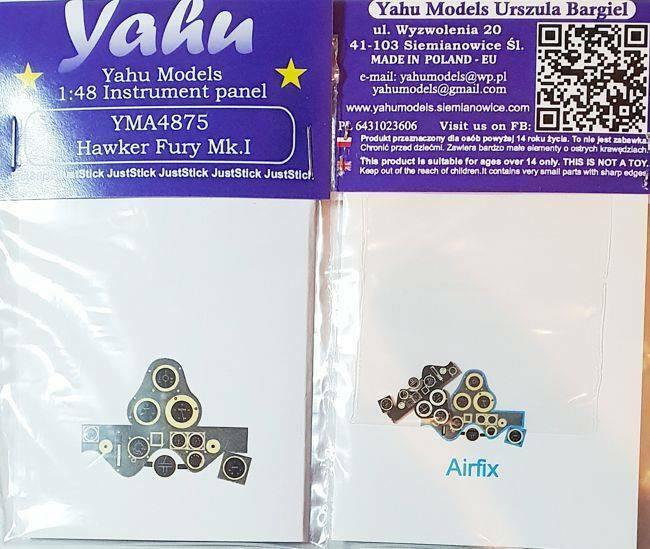 YAHU YMA4867 D-520 1//48 Instrument panel