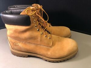 Men's Timberland Work Boots Size 15 Tan