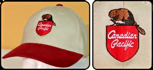 CP Canadian Pacific Beaver Hat Cap