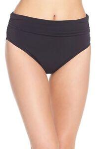 bfc674ca417ec Magicsuit Shirred Jersey Bikini Bottom Women's size 12 Black #9294 ...