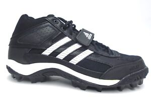 01f20a866fe6cf Adidas Corner Blitz 7 MD Black and White Football Cleats - Size 12.5 ...