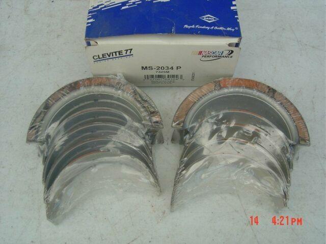 Clevite Ms2034p Std Main Bearing Set Ford  Navistar Diesel