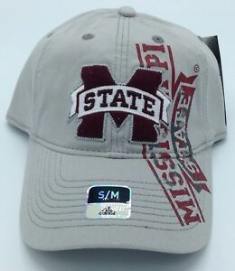 Image is loading NCAA-Mississippi-State-Bulldogs-Adidas-Slouch-SuperFlex-Hat - 21de4e96c7d