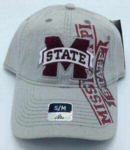 Image is loading NCAA-Mississippi-State-Bulldogs-Adidas-Slouch-SuperFlex-Hat - 3ebbb84ab24