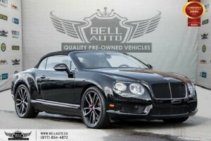 2013 Bentley Continental GT V8 COUPE, CABRIOLET, AWD, NAVI, REAR CAM, TWN TURBO
