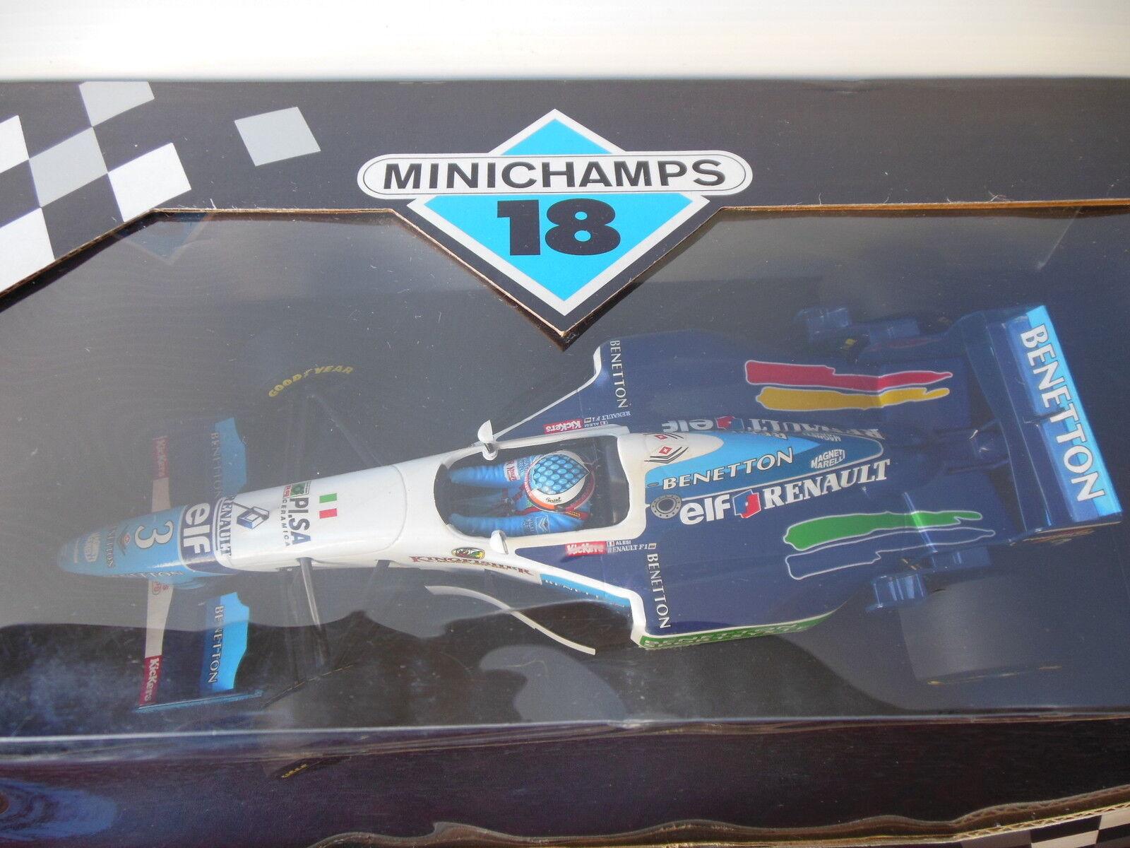 Paul's Model Art Minichamps 18 - Benetton Sportsystem  - Renault  18