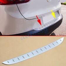 Steel Trunk Sill Protector For Mazda CX-3 2016 CX3 Accessories Bumper Plate