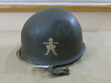 #228 US 509th PARACHUTE INFANTRY BAT HELMET M1 Stahlhelm PARATROOPER