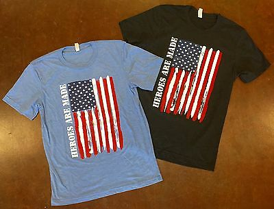 Running Fitness Exercise Sports Mens Tri-Blend USA Flag T-Shirt for Crossfit