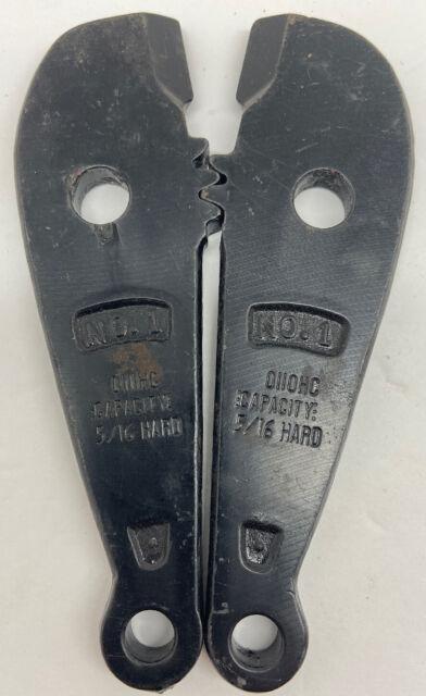 Set  Bolt Cutter Blades #5 HKP PORTERS
