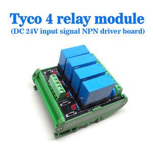 OEG-DC-24V-4-Channel-Relay-Module-Four-panels-Driver-Board-Socket-NPN