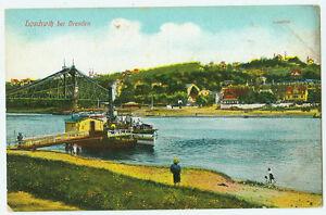 Alte-Ansichtskarte-Postkarte-Loschwitz-bei-Dresden-Luisenhof-farbig