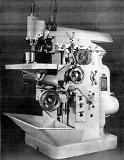 Fräsmaschine WMW Bedienungsanleitung Ruhla  FUW 315x800