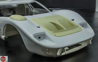 1//12 1966 Shelby American Ford GT-40 resin conversion kit for Trumpeter kits