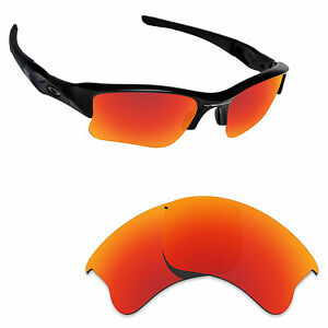 a06a4ffa61 Image is loading Hawkry-Polarized-Replacement-Lense-for-Oakley-Flak-Jacket-