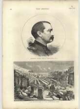1875 Gen Henry Philip Sheridan, Usa Excavations At Coliseum Rome