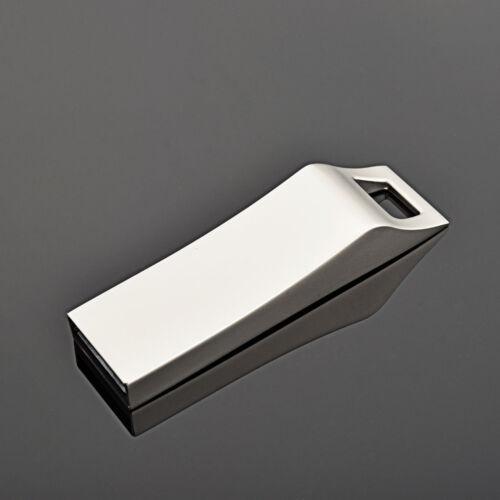 Lanyards Hole Metal 64GB USB Flash Drives Flash Pen Drive Thumb Memory Stick