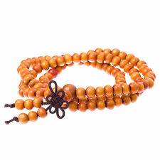 Brown & Red 'Urca' Wooden Bead Casual Wrap Bracelet for Men by Urban Male