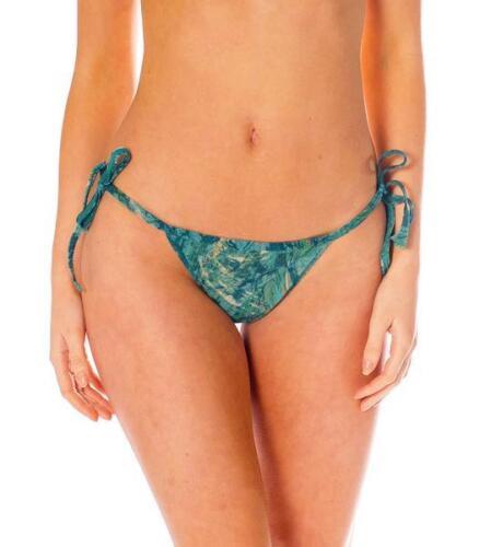 Kiniki Santorini Tan Thru Sonnendurchlässiger Seitlich Zu Bindender Bikini Tanga