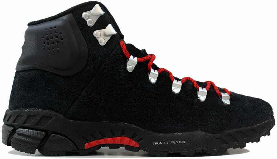 Nike Zoom Meriwether Mid Black Black-Sport Red 536234-006 Men's SZ 11.5