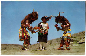 CPSM-PF-USA-K-97-Buffalo-Dance-by-Pueblo-Indians