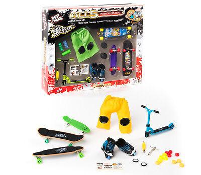 Kids Gift 6/14 Ys Box 5 Ridertoys Skates/longboard/cruiserboard/rollers/scoot/ Bianco Puro E Traslucido