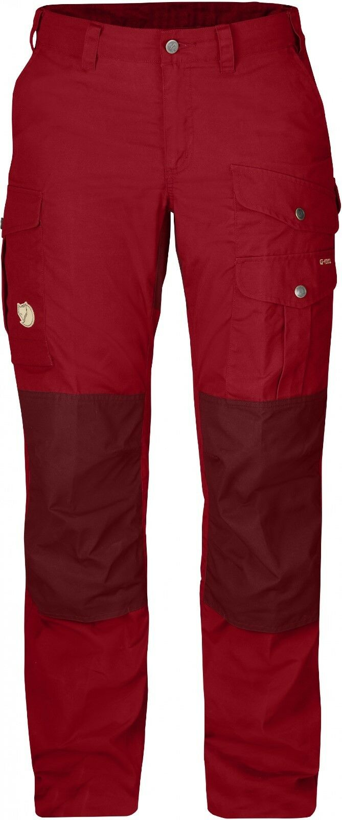 Fjäll Räven Barents Pro Women's Trousers, Women's Pants from G-1000, Deep Red