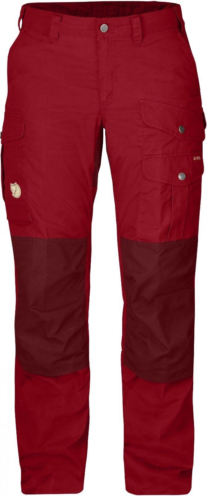 Fjäll Räven Barents Pro Damens Trousers, Damenhose aus G-1000, deep ROT