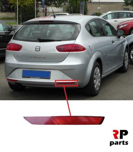 FOR SEAT LEON 2009-2012 NEW REAR BUMPER REFLECTOR RIGHT O//S 1P0945106D