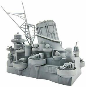 Fujimi-Equipment-No-4-1-200-battleship-Yamato-central-structure-plastic-model