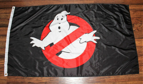 New Ghostbusters Banner Flag Gost Busters Paranormal Movie Film Ships from USA