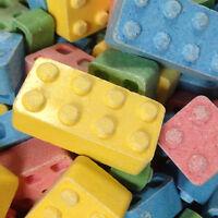 Edible Candy Blox Lego Building Blocks Bulk Candy 1 Pound 125pcs Free Shipping