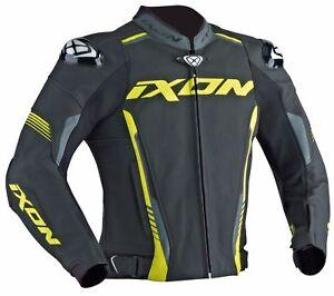 Ixon-Vortex-Black-Grey-Yellow-Leather-Motorcycle-Jacket-100201034-1086